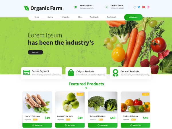 free-organic-wordpress-theme
