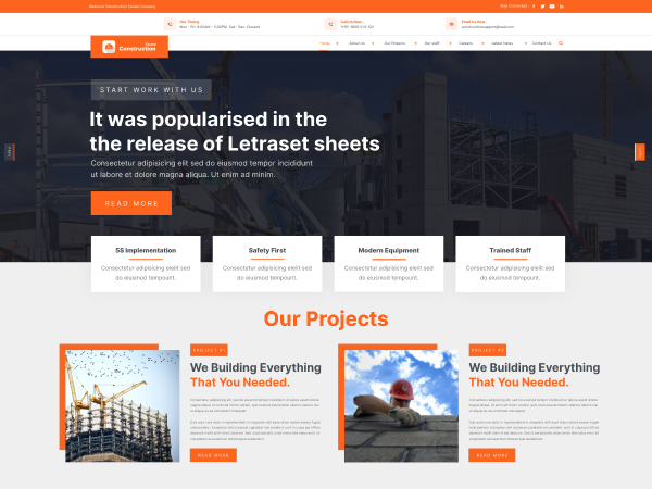 free-construction-wordpress-theme
