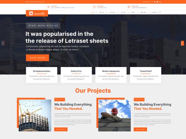 free-construction-wordpress-theme