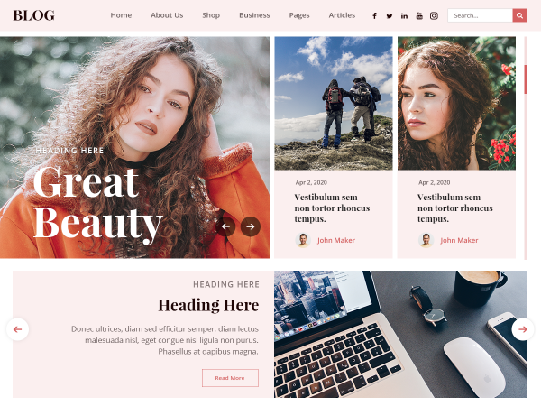 free-blogger-wordpress-theme